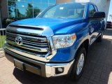 2017 Blazing Blue Pearl Toyota Tundra SR5 Double Cab 4x4 #121174771