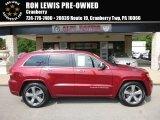 2014 Deep Cherry Red Crystal Pearl Jeep Grand Cherokee Overland 4x4 #121197781