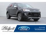 2017 Shadow Black Ford Explorer Platinum 4WD #121197916