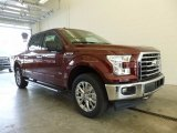 2017 Ford F150 XLT SuperCrew 4x4 Front 3/4 View