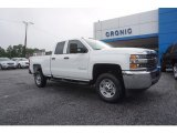 2017 Summit White Chevrolet Silverado 2500HD Work Truck Double Cab 4x4 #121197954