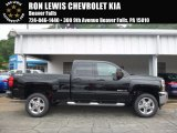 2017 Black Chevrolet Silverado 2500HD LT Double Cab 4x4 #121221304