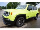 2017 Hypergreen Jeep Renegade Sport #121221330
