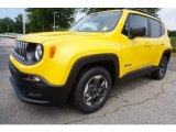 2017 Solar Yellow Jeep Renegade Sport #121221329