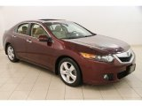 2009 Basque Red Pearl Acura TSX Sedan #121221571