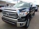 2017 Midnight Black Metallic Toyota Tundra 1794 CrewMax 4x4 #121246089