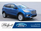 2017 Lightning Blue Ford Escape SE #121248108