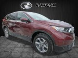 2017 Basque Red Pearl II Honda CR-V EX-L AWD #121249438