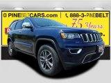 2017 True Blue Pearl Jeep Grand Cherokee Limited 4x4 #121246797