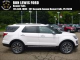 2017 White Platinum Ford Explorer Platinum 4WD #121249451
