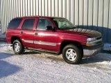 2004 Sport Red Metallic Chevrolet Tahoe LS 4x4 #1189473