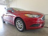 2017 Ruby Red Ford Fusion SE #121246486