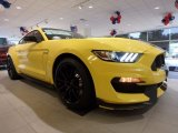 2017 Triple Yellow Ford Mustang Shelby GT350 Coupe #121246482