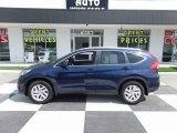 2016 Obsidian Blue Pearl Honda CR-V EX-L #121245603