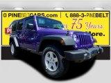 2017 Extreme Purple Jeep Wrangler Unlimited Sport 4x4 #121249116
