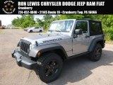 2017 Billet Silver Metallic Jeep Wrangler Sport 4x4 #121246465