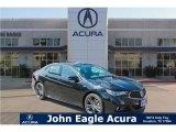 2018 Crystal Black Pearl Acura TLX V6 A-Spec Sedan #121258542