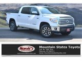 2014 Super White Toyota Tundra Limited Crewmax 4x4 #121249104