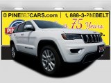 2017 Bright White Jeep Grand Cherokee Limited 4x4 #121258530
