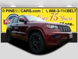 2017 Velvet Red Pearl Jeep Grand Cherokee Laredo 4x4 #121258529