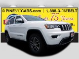 2017 Bright White Jeep Grand Cherokee Limited 4x4 #121258526