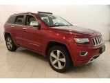 2014 Deep Cherry Red Crystal Pearl Jeep Grand Cherokee Overland 4x4 #121248223