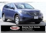 2012 Twilight Blue Metallic Honda CR-V LX #121249925