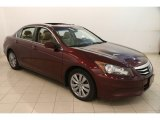 2011 Basque Red Pearl Honda Accord EX-L Sedan #121248190