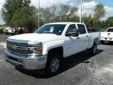 2017 Summit White Chevrolet Silverado 2500HD Work Truck Crew Cab 4x4 #121249022