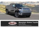 2017 Midnight Black Metallic Toyota Tundra Limited CrewMax 4x4 #121246372