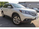 2014 White Diamond Pearl Honda CR-V EX AWD #121249891