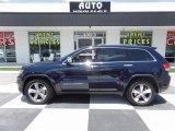 2016 Jeep Grand Cherokee True Blue Pearl