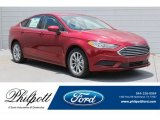 2017 Ruby Red Ford Fusion SE #121248093