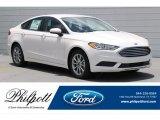 2017 White Platinum Ford Fusion SE #121248092