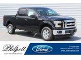 2017 Shadow Black Ford F150 XLT SuperCrew #121248081
