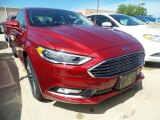 2017 Ruby Red Ford Fusion SE #121248970