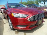 2017 Ruby Red Ford Fusion SE #121248964