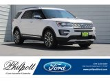 2017 White Platinum Ford Explorer Platinum 4WD #121248074
