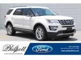 2017 White Platinum Ford Explorer XLT #121248073