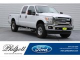 2015 Oxford White Ford F250 Super Duty XLT Crew Cab 4x4 #121259199