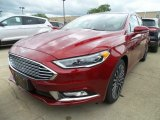 2017 Ruby Red Ford Fusion SE #121247089