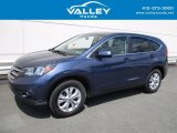 2014 Twilight Blue Metallic Honda CR-V EX AWD #121249756
