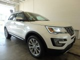2017 White Platinum Ford Explorer Limited 4WD #121259096