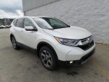 2017 White Diamond Pearl Honda CR-V EX AWD #121259091