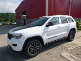 2017 Bright White Jeep Grand Cherokee Trailhawk 4x4 #121248839