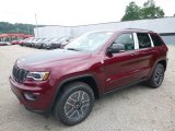 2017 Velvet Red Pearl Jeep Grand Cherokee Trailhawk 4x4 #121248836