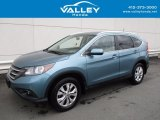 2014 Mountain Air Metallic Honda CR-V EX-L AWD #121258289