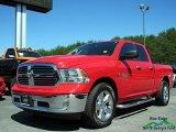 2014 Flame Red Ram 1500 Big Horn Quad Cab 4x4 #121245302