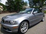 2004 Silver Grey Metallic BMW 3 Series 330i Convertible #121249713