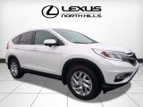 2015 White Diamond Pearl Honda CR-V EX #121258255